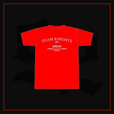 TEAM KNIGHTS athlete T-Shirt ver.0 [red]