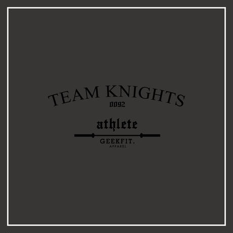 TEAM KNIGHTS athlete T-Shirt ver.2 [charcoal]