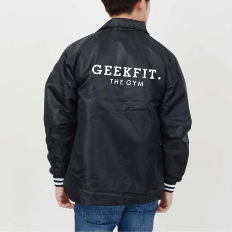 GEEKFIT. THE GYM COACH JACKET [black]