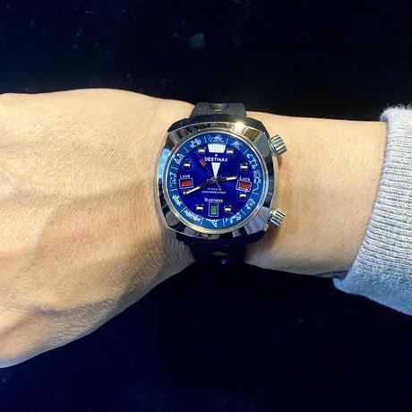 70S 占い機能付き腕時計(ブルー)