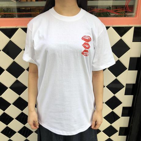 T-shirt White×Black