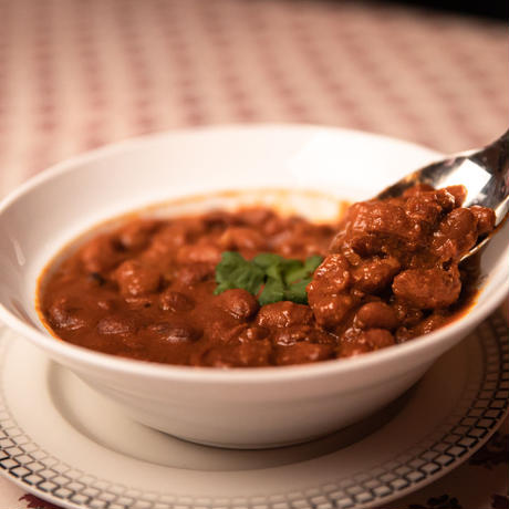 ピリ辛ラジュママサラ(インゲン豆カレー)/幻のインド料理 サフラン池袋