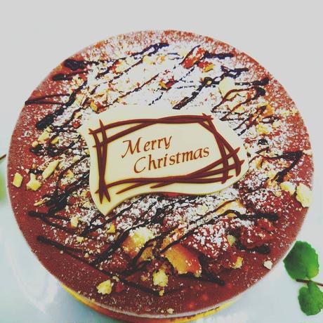 【早期予約特典付き】【配送】クリスマスジェラートケーキ『チョッコラート』