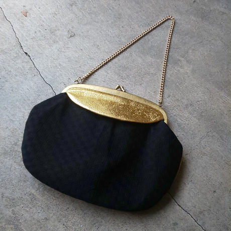 パーティーバッグ  ゴールド×ブラック