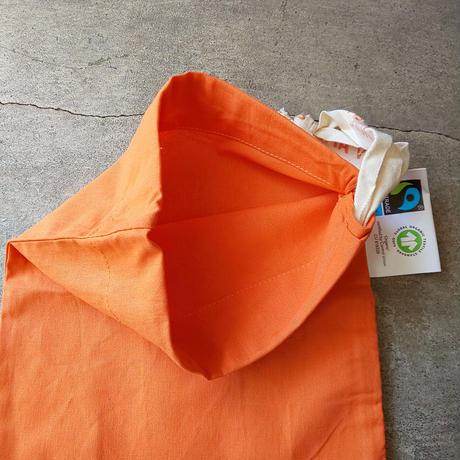 チェコ dm 巾着 オレンジ