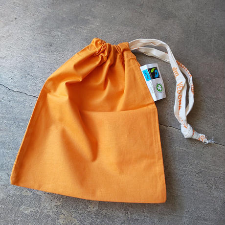 チェコ dm 巾着 やまぶき色