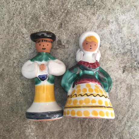 チェコの陶器人形