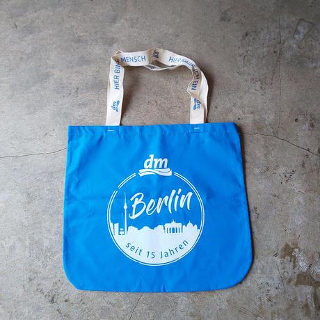 ドイツdmエコバッグ ベルリン限定バージョン ブルー