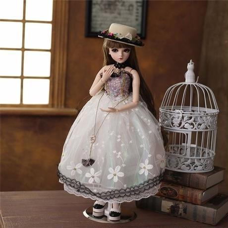 60cm 1/3 サイズ かわいい女の子 球体関節人形 BJD カスタムドール リアルドール A1305