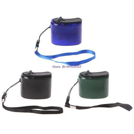 防災用品★コンパクトで手回式 充電器 スマホ充電 アウトドア・キャンプにもおすすめ♪ USB ダイナモクランク 3カラー ハンドチャージャー A1012