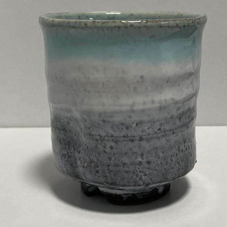 湯呑(萩焼 / 萩焼窯元 国輔窯)  3000 ツートンカラー グリーン