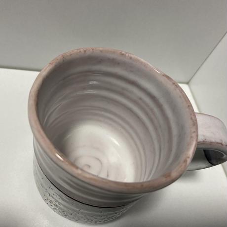 マグカップ(萩焼 / 萩焼窯元 国輔窯)  3000  ツートンカラー ピンク