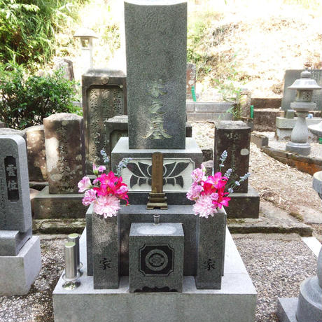 簡易清掃サービス + 岩田さんのお花