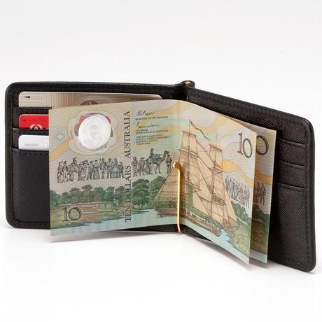 GENTIL BANDIT MONEY CLIP WALLET GBW1967-BLK