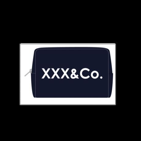 ポーチ XXX&Co.(シルクプリント)