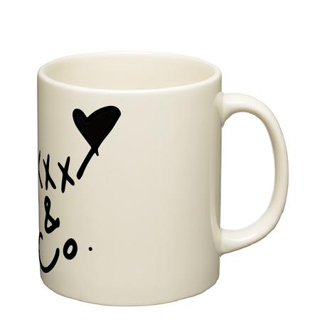 White Day 限定 陶器マグカップ