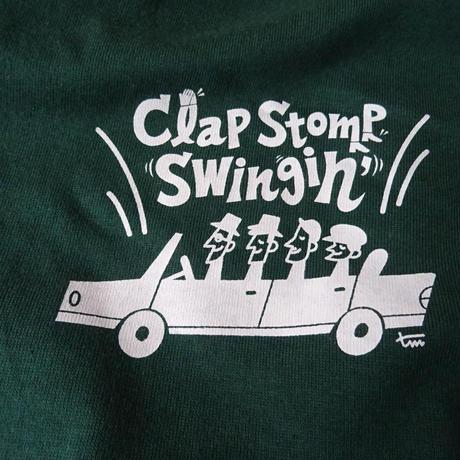 Clap Stomp Swingin' / Swing Arcade Tee(アイビーグリーン)