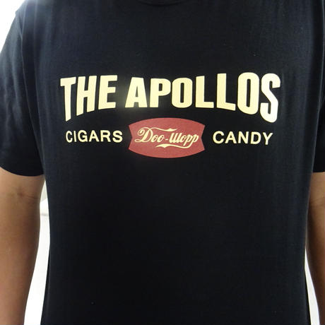 THE APOLLOS / CIGARS SHOP Tee(ブラック)