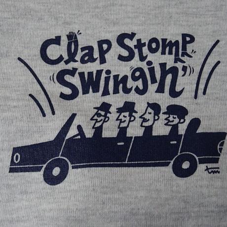Clap Stomp Swingin' / Swing Arcade  Tee(オートミール)
