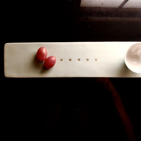 Masamitsu Kawai 青磁金彩板皿
