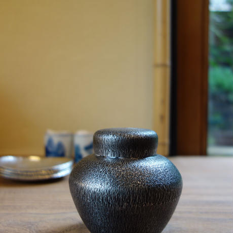 Akihito Imai 錫茶壺 (桐箱付き)