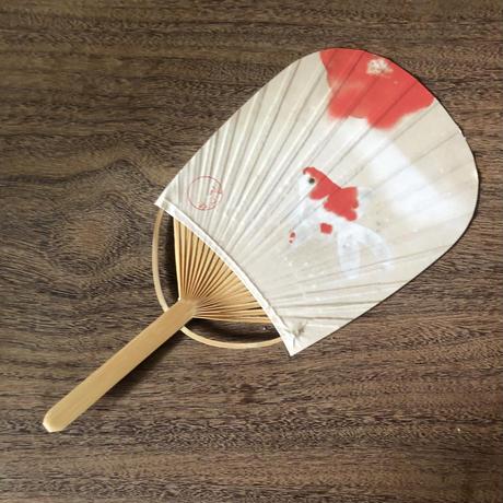 Hidetoshi Mito 金魚ミニ団扇 限定品(定形封筒付き)