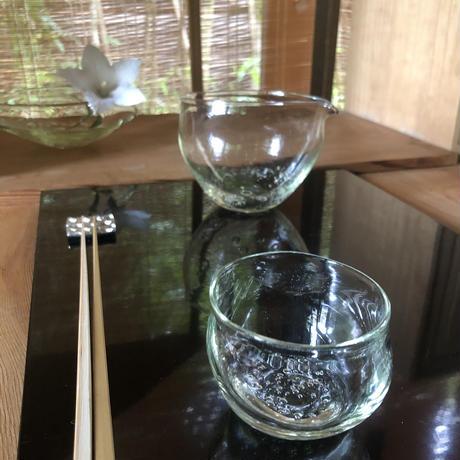 Akemi Kaminaga 琵琶湖彩泡ぐい呑or小湯呑み