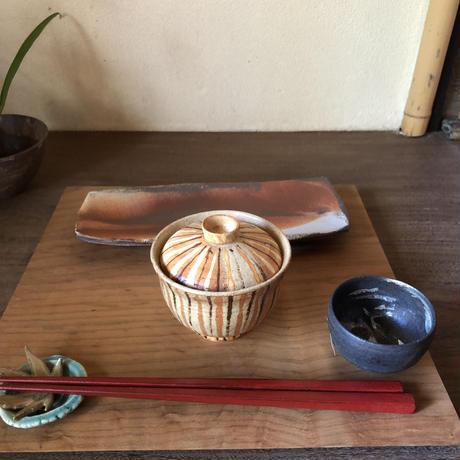 Norikazu Ogawa  麦藁手蓋付碗