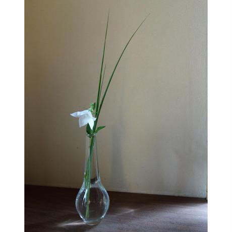 Kaori Kawanabe  吹きガラス鶴首花器