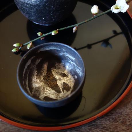 Norikazu Ogawa 鉄銀彩ぐい呑み