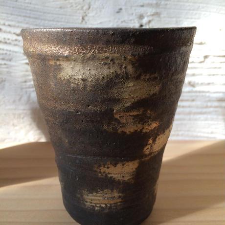 Norikazu Ogawa 鉄銀彩ビアカップ