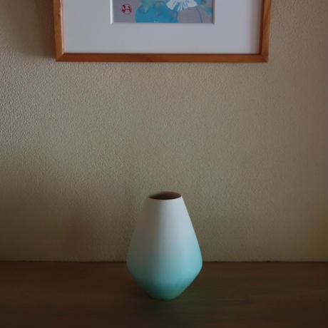Ryuji Iwasaki アイスグリーン花器