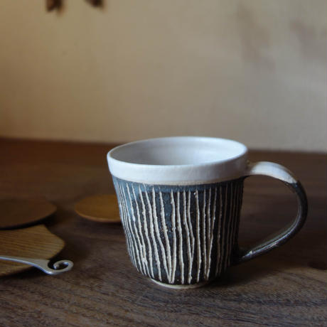 Norikazu Ogawa 線紋マグカップ