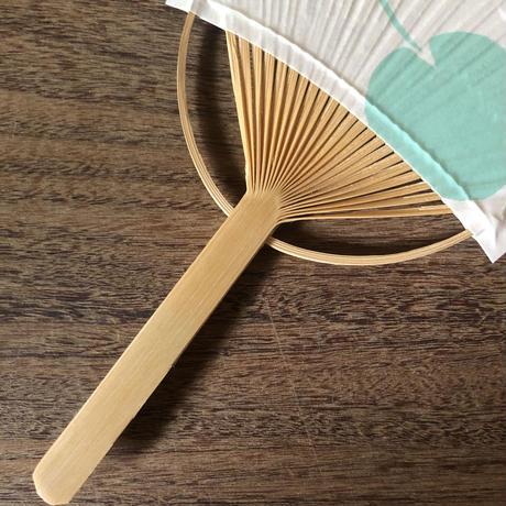 Hidetoshi mito 睡蓮ミニ団扇 限定品(定型封筒付き)