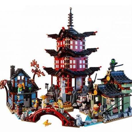 ニンジャゴー エアー術の寺院 LEGO互換ブロック