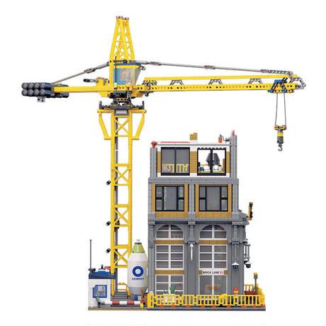 レゴ互換品 ビルと建設機  レゴ未発売