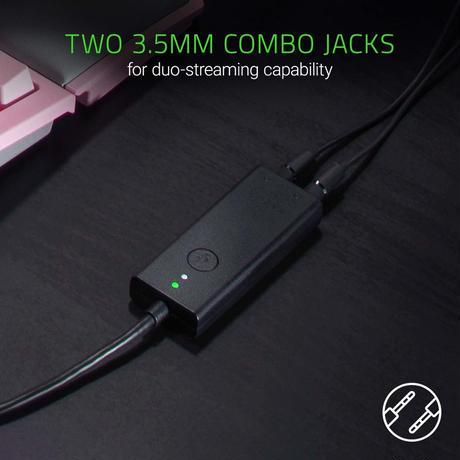 Razer Ifrit: USBオーディオエンハンサー付きプロフェッショナルグレードコンデンサーマイク