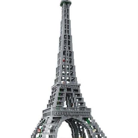 フランス エッフェル塔 1/300  レゴ互換ブロック クリエイター 17002