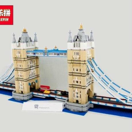 ロンドンタワーブリッジモデル レゴ互換品 クリエイターエキスパート