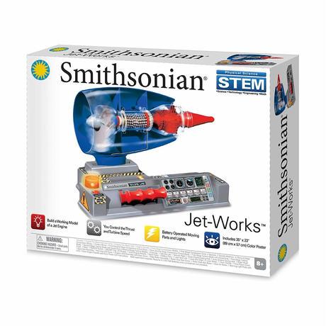 Smithsonian Jet Works Working Jet Engine Model