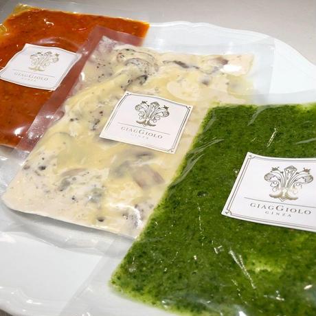真空冷凍パック  特製3種のパスタソース