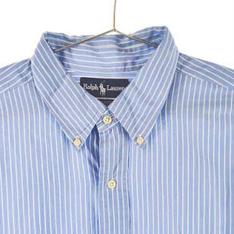 【古着】Ralph Laurenストライプシャツ