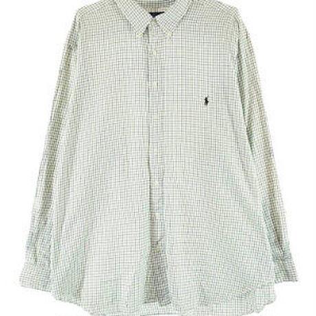 【古着】Ralph Laurenチェックシャツ