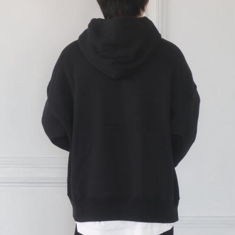 GIDEAL.虎刺繍パーカー(ブラック)