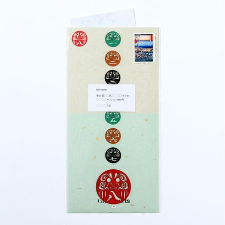 だるま七転八起「MIX」#paper ornament