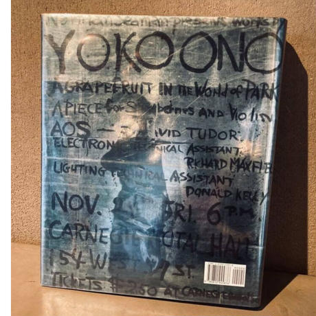 """[ Yes / YOKO ONO ] 英語版・アーティスト直筆サイン入り  with sound CD """"A Blueprint for the sunrise"""""""