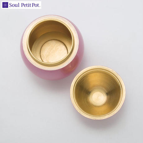 MAO-SP-772 Soul PetitPot ソウル プチポット ミニ骨壷 ポポ クリアシルバー