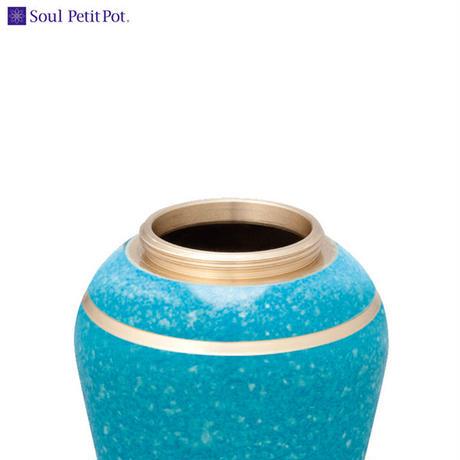 MAO-SP-061 Soul PetitPot ソウル プチポット ミニ骨壷 シンプルモダン スターライトブルー