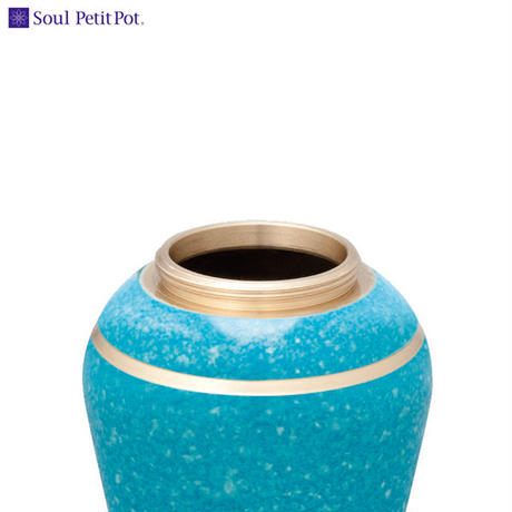 MAO-SP-064 Soul PetitPot ソウル プチポット ミニ骨壷 シンプルモダン  エバーグリーン
