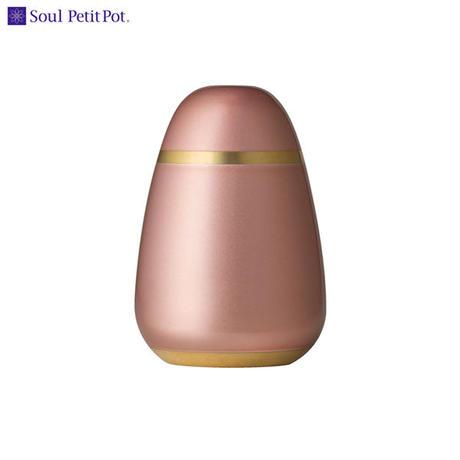 MAO-SP-672 Soul PetitPot ソウル プチポット ミニ骨壷 パレットエッグ ウォームピンク